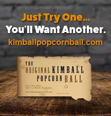 The Original Kimball Popcorn Ball